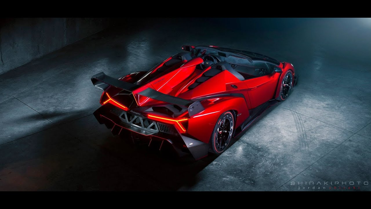 Lamborghini Veneno Roadster Engine Start & Exhaust Sound Rev | CES ...