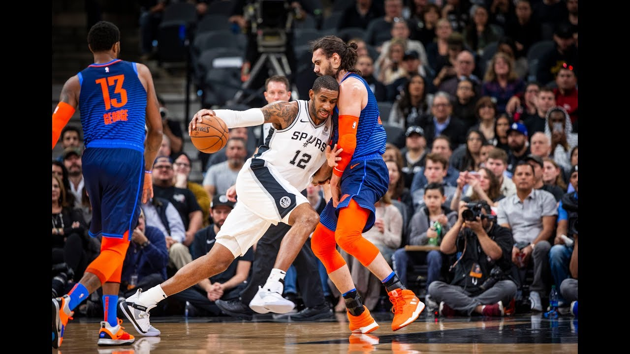 San Antonio Spurs vs. Oklahoma City Thunder 2OT Thriller Turns Into 2018-2019 Game Of The Year