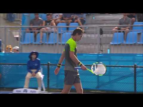 Granollers v Giraldo Match Highlights (R1) | Apia International Sydney 2017