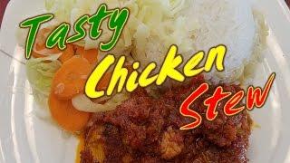 Simple Ghana Chicken Stew | StellaZone Style