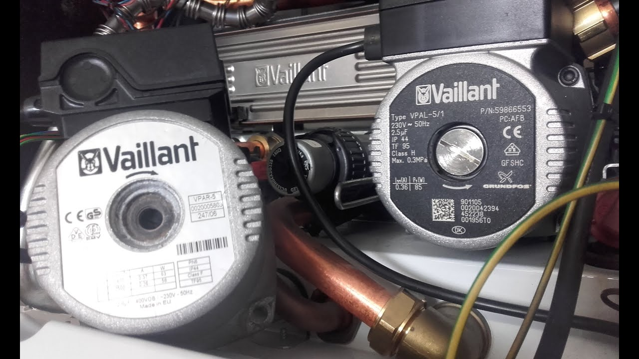 Vaillant Ecotec Boiler Pump Problems Grundfos Wilo Youtube Plus Wiring Diagram