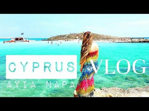CYPRUS Travel VLOG Ayia Napa Follow me around FMA 2016