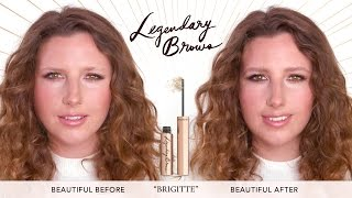 Eyebrow Tutorial: How To Create Legendary Brows feat. Nancy | Charlotte Tilbury