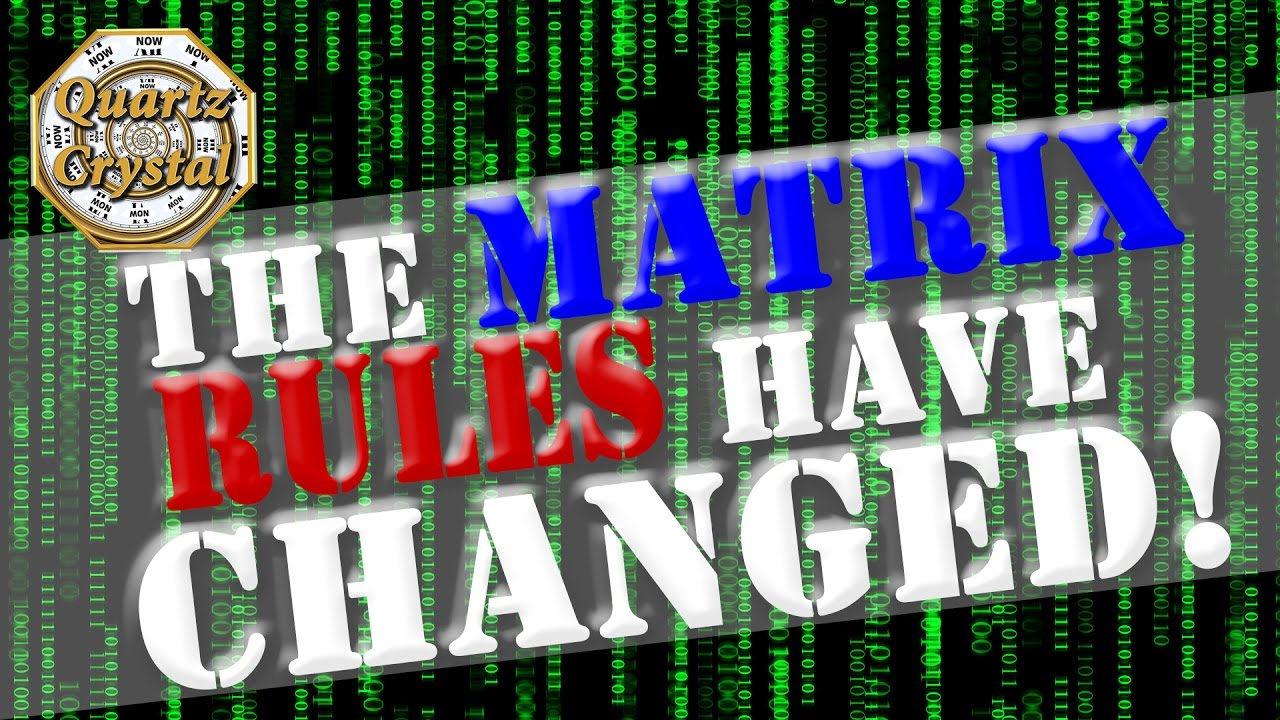 The Matrix Game Rules Have Changed! Important Announcement All Souls Will  Now Escape!
