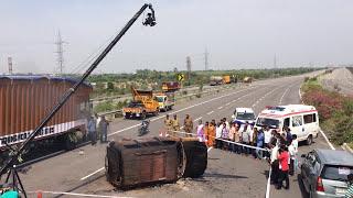 Road  Accidents Drushyakayam  movie making video