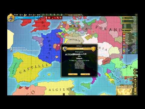 Let's Play Europa Universalis III Divine Wind France Episode II: Italian ambition (2)