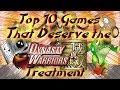 Top Ten Potential Warriors Games