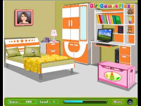 Room Cleaning Game For Girls