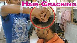Hair cracking head massage | True ASMR experience | Indian Massage