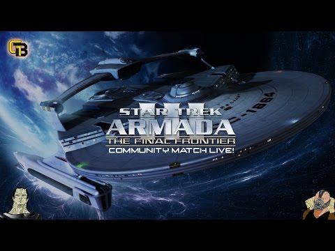 Star Trek Armada 3 - The Final Frontier Community Match Live!