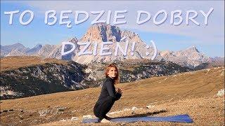 Poranna Joga na Dobry Dzień ♥ Joga z Gosią we Włoszech