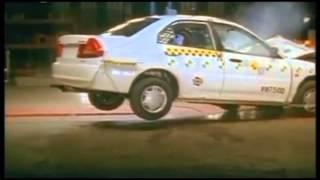 Crash test Mitsubishi Lancer 8 1998