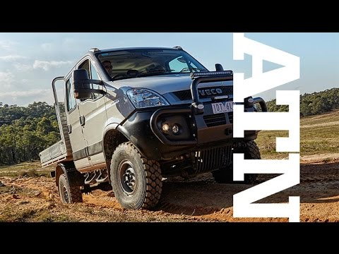 iveco daily 4x4 review truck tv australia youtube. Black Bedroom Furniture Sets. Home Design Ideas
