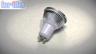 Видеообзор Cветодиодная лампа LED GU10 4.6W