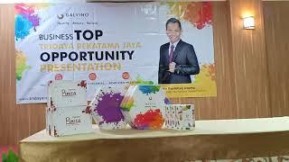 Gambar cover TOP . Tridaya Rekatama Jaya Opportunity Presentation. #Galvino #ikhlasluarbiasa