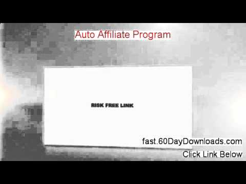 Auto Affiliate Program - Auto Insurance Affiliate Program