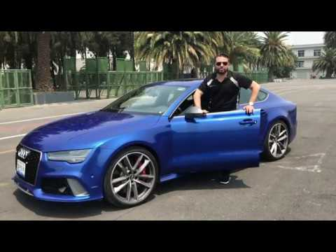 Primer contacto con Audi RS7