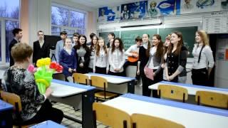 Поздравление Валентины Михайловны с Днём рождения(Великий и могучий 10 В поздравляет самую чудесную учительницу физики, самую лучшую и классную руководительн..., 2012-03-25T10:39:50.000Z)