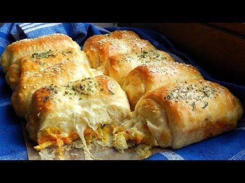 Chicken Cheese Dinner Rolls Delicious!