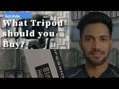 What tripod should you buy   Should you buy tripod in lockdown #bestsimpextripod #tripod #technoshaw