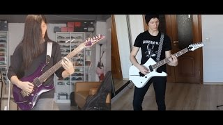 DragonForce - Black Winter Night (Live) Guitar Cover .feat. Vader Law