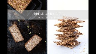 Nut and Seed Bread & Crackers | Vegan, Paleo, Keto
