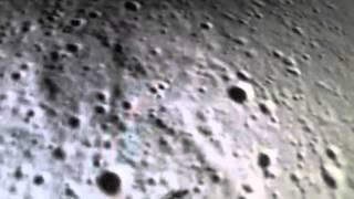 Непонятное существо на луне,съемки со спутника NASA