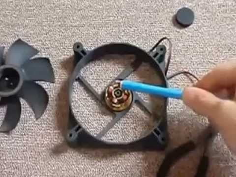 How to create a fan which runs without electric current or battery
