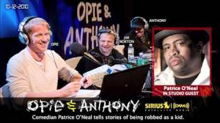 Patrice O'Neal's story of being robbed as a kid on Opie and Anthony