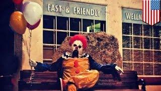 Зловещие клоуны терроризируют калифорнийский городок