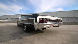 1964 Chevrolet Impala Vert Triple Black 700r4 ZZ4 350.