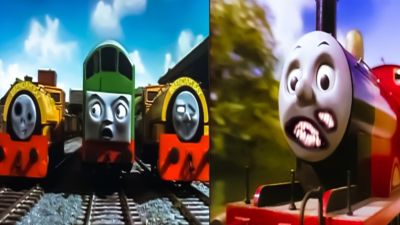 SCARY THOMAS THE TANK ENGINE.EXE VIDEOS   SCARY SODOR FALLOUT HORROR VIDEOS (Pt 3)