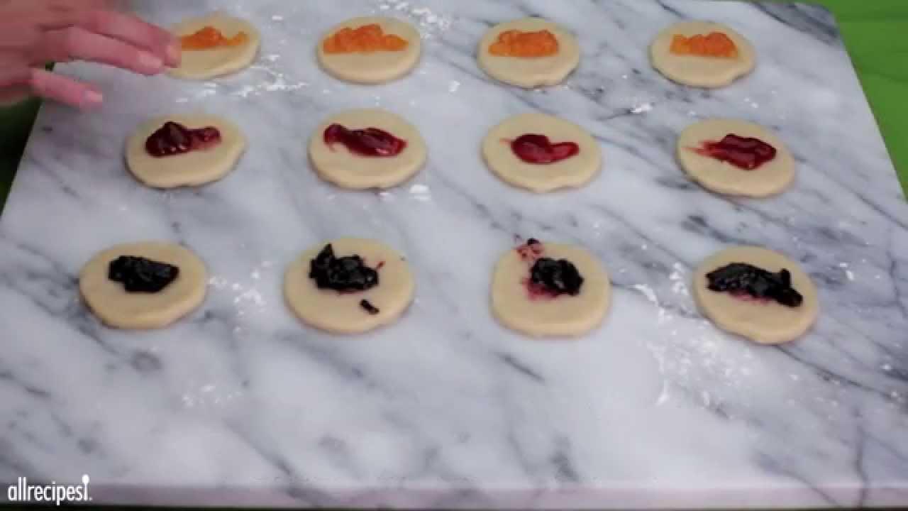 How to make jam kolaches cookie recipes allrecipes youtube how to make jam kolaches cookie recipes allrecipes ccuart Choice Image