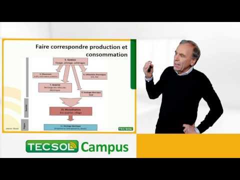 « Tecsol Campus » présente un premier cours sur l'autoconsommation en accès libre