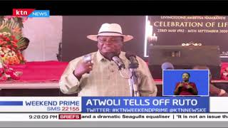 Atwoli accuses Dp Ruto of derailing the president from achieving his agenda