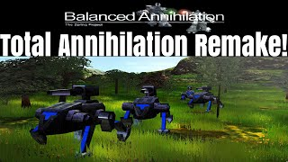 Balanced Annihilation 5v5 Multiplayer - Total Annihilation Remake!