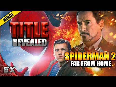 SpiderMan 2 Title Revealed | Tom Holland | What Will Happen In Spiderman 2 ? Super Xpose