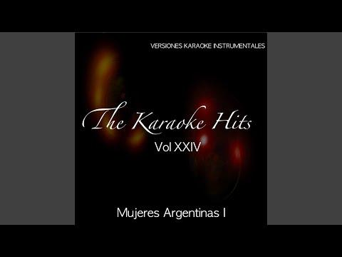 María De Buenos Aires (Karaoke Version) (Originally Performed By Julia Zenko)