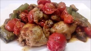 Kemiksiz Tavuk İncik Kavurma-Değişik Tavuk Yemekleri