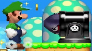 New Super Luigi Bros DS - Complete Walkthrough (All Worlds)