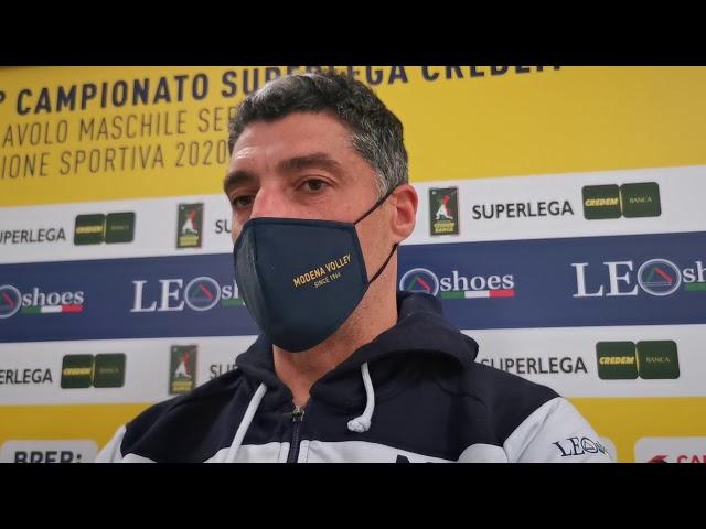 Coach Giani in vista della gara a Perugia