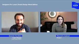 Designers For Lunch | Dutch Des
