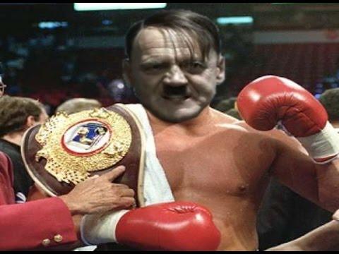 Hitler becomes a pro boxer