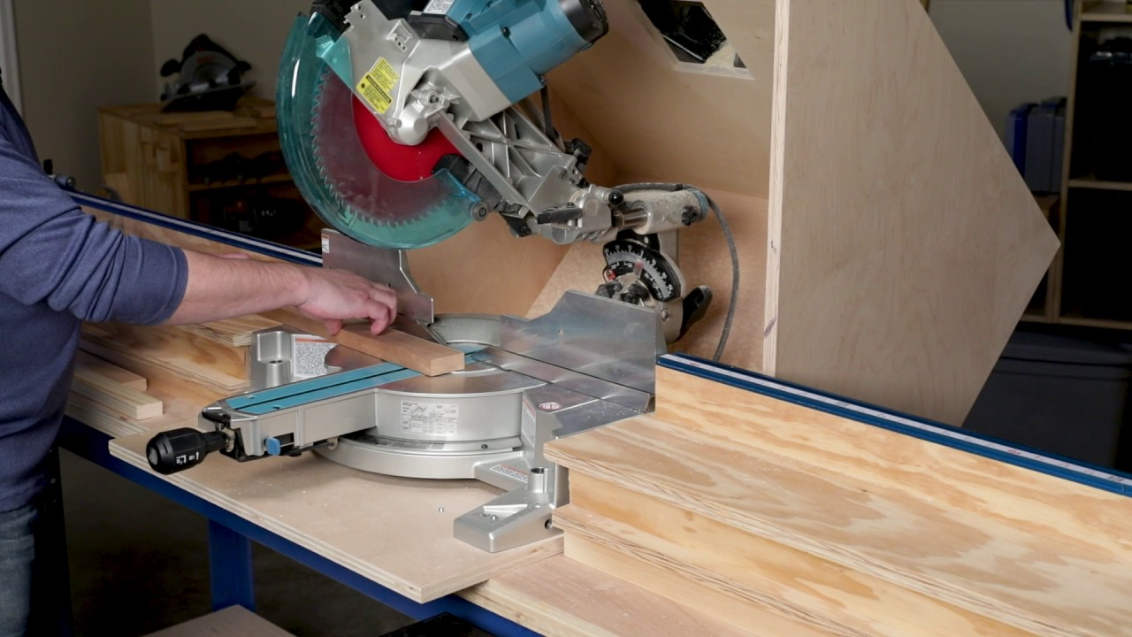 How To Cut Angles On A Miter Saw You
