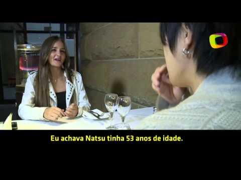 """Brasileira encontra japonês que """"comprou"""" sua virgindade"""