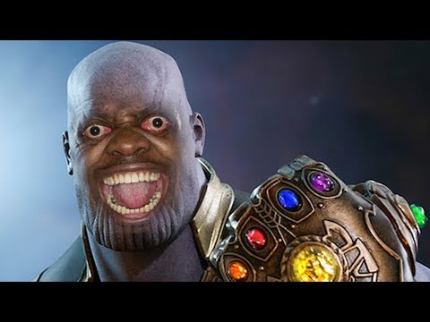 When you shoot Thanos once