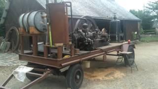 Démarrage d'un moteur duvant à air comprimé