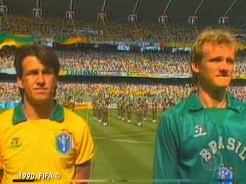 Memória Globo. Copa do Mundo de Futebol 1990.