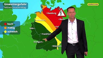 Wetter heute: Die aktuelle Vorhersage (12.06.2019)
