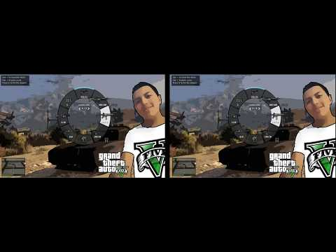 VR 3D   GTA 5  ASALTO